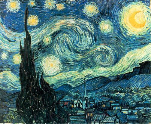 ¿Cuál fue el pintor que pintó mas de 900 cuadros tales como la noche estrellada pero sólo vendió uno en su vida?
