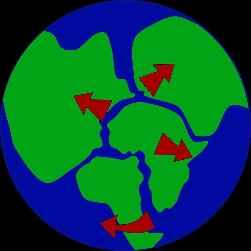 ¿Cómo se llamó al super-continente cuando la tierra estaba formada por un solo continente?