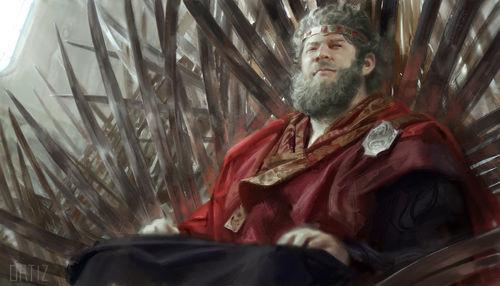 ¿A qué rey no sirvió Viserys II Targaryen como Mano antes de ser proclamado Rey?