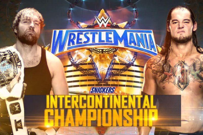 Campeonato Intercontinental de la WWE: Dean Ambrose (c) vs. Baron Corbin