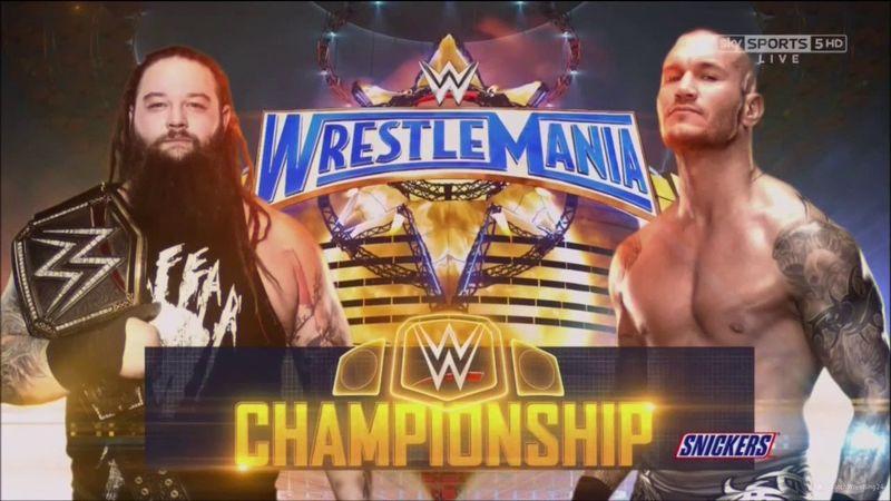 Campeonato de la WWE: Bray Wyatt (c) vs. Randy Orton