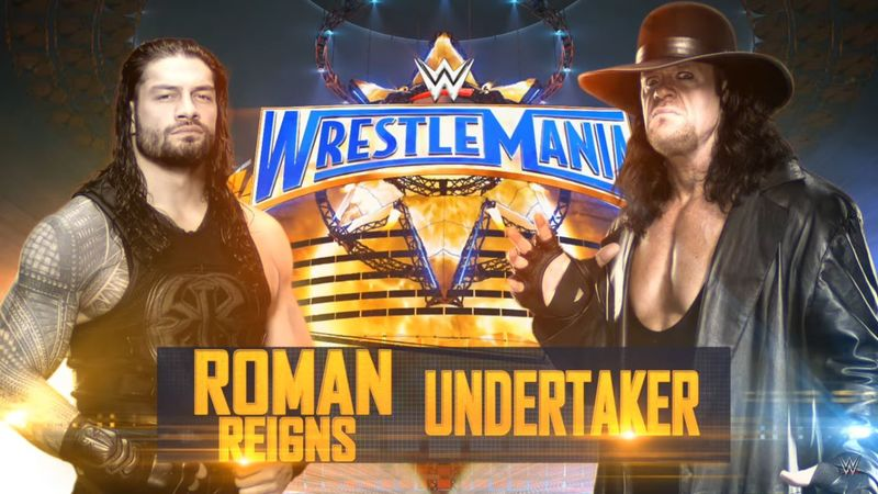The Undertaker vs. Roman Reigns