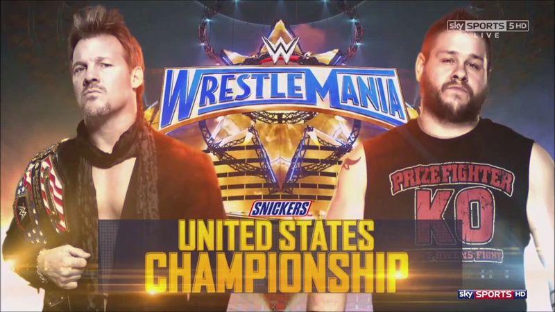 Campeonato de los Estados Unidos: Chris Jericho (c) vs. Kevin Owens