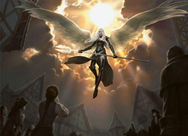 Ser un arcángel, pero deberás abandonar tus intereses y consagrar tu vida a proteger a los débiles y a luchar contra el mal.