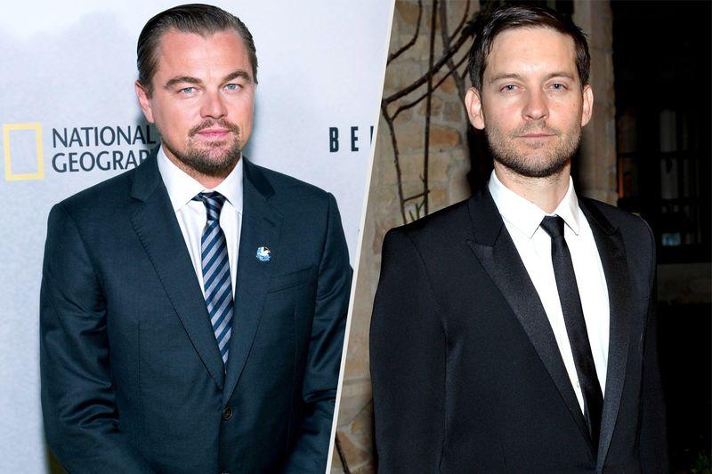 ¿Leonardo DiCaprio y Tobey Maguire?