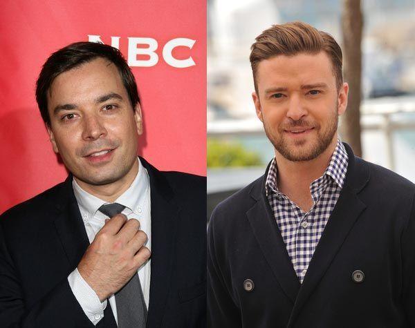 ¿Jimmy Fallon y Justin Timberlake?