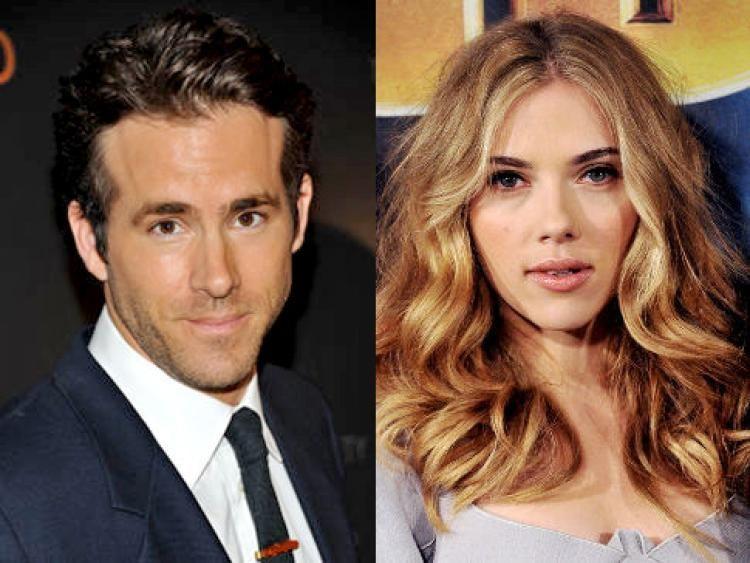 ¿Ryan Reynolds y Scarlett Johanson?