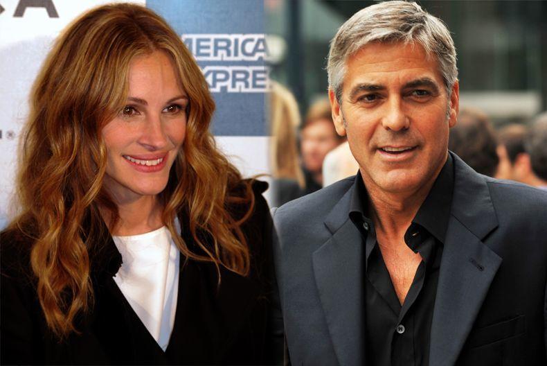 ¿Julia Roberts y George Clooney?