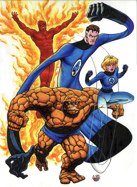 ¿Dónde vivían al principio los 4 Fantásticos?.