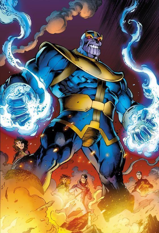 ¿A qué raza pertenece Thanos?.