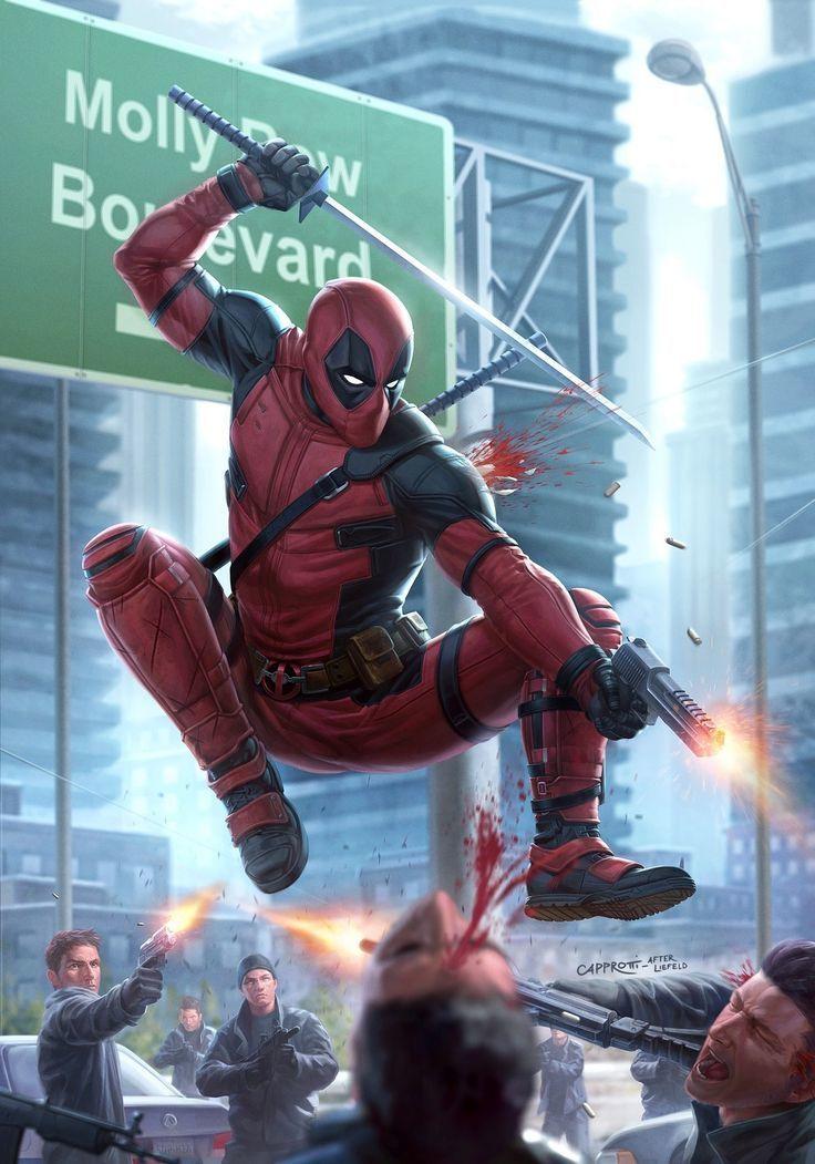 ¿Cómo es el nivel de regeneración de Deadpool?