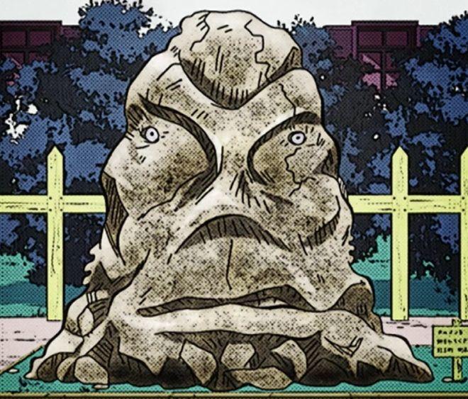 ¿Quién encerró a Anjuro Katagiri en una piedra?