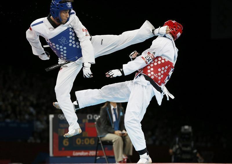 ¿Cuál de estos personajes ha sido campeón de taekwondo?
