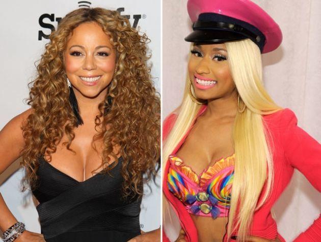 Mariah Carey y Nicki Minaj?