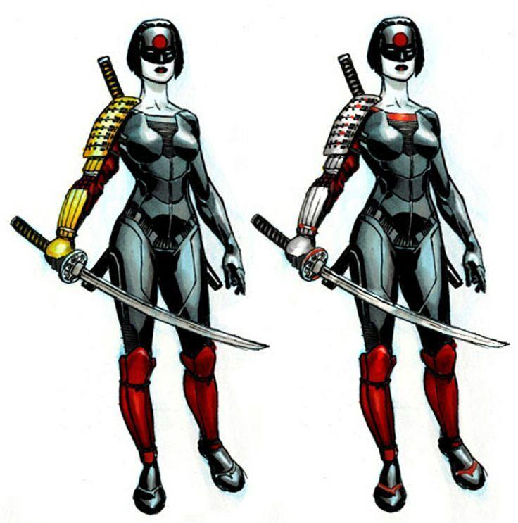 En que consiste el poder de la espada del personaje Katana.