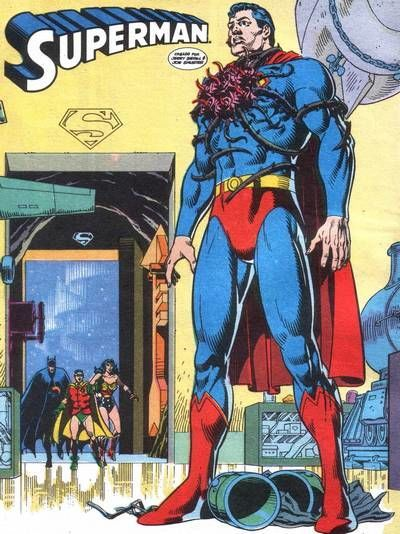 Nombre de la planta alienígena que usó un enemigo para terminar con Superman.