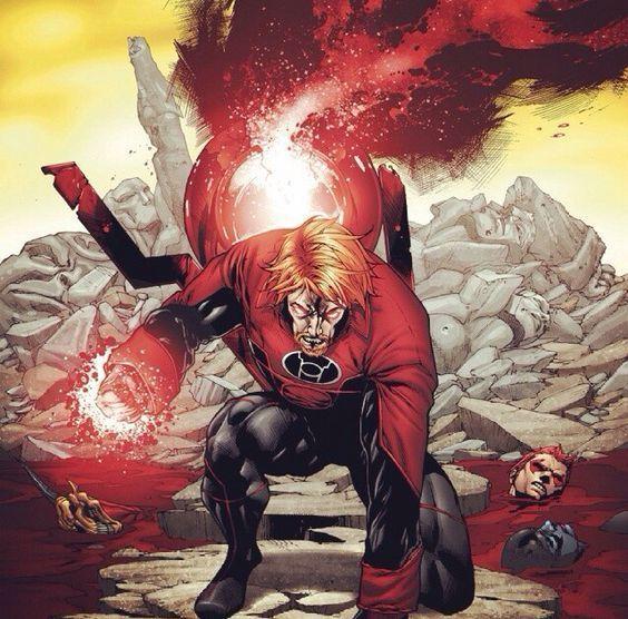Nombre de el Green Lantern que fue un Red Lantern durante un tiempo.