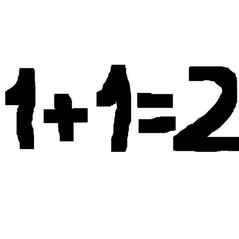 Para empezar una fácil. ¿Cuánto es 1+1?