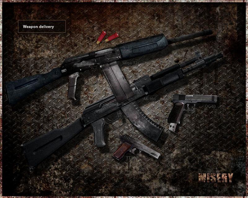 Armamento ¿cual llevas?