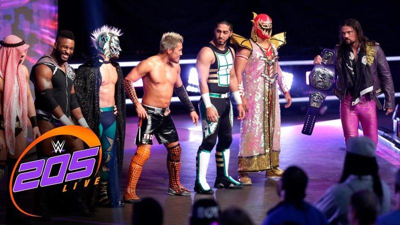 27614 - Luchadores de la división Cruiserweight de la WWE