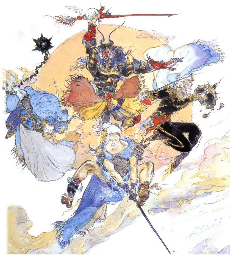 ¿Quién de los 4 antiguos guerreros que derrotaron la primera vez al verdadero villano de Final Fantasy V es el padre de Bartz?