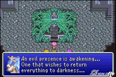 ¿Cómo se libera de su aprisionamiento el verdadero villano de Final Fantasy V?