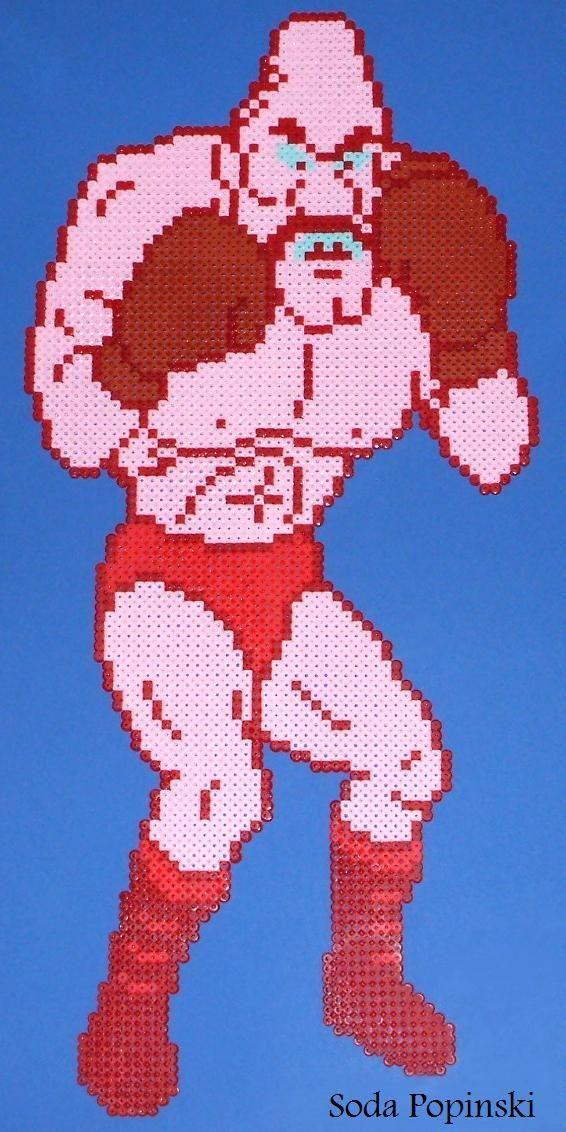 ¿Cuál era el nombre original de Soda Popinski en el arcade de Punch-Out!!?