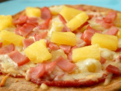 ¿Te gusta la pizza con piña?