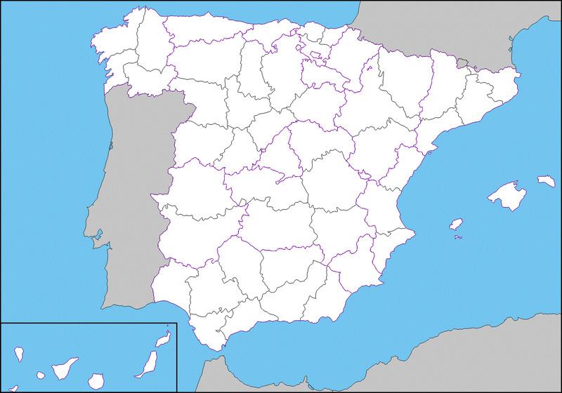25820 - Provincias españolas
