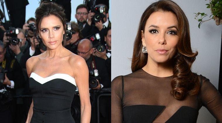 ¿Victoria Beckham  y Eva Longoria?