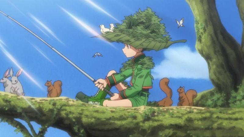 ¿Cuál era el nombre del pez que Gon pesco al inicio del anime?