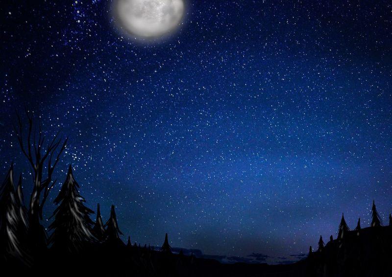 La noche te ha alcanzado justo antes de empezar tu viaje, hacer un campamento es una buena idea, pero antes...