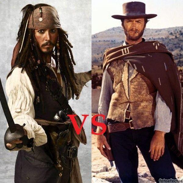 Jack Sparrow VS El Hombre sin Nombre