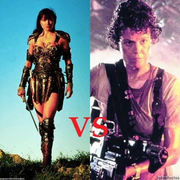 Xena VS Teniente Ripley