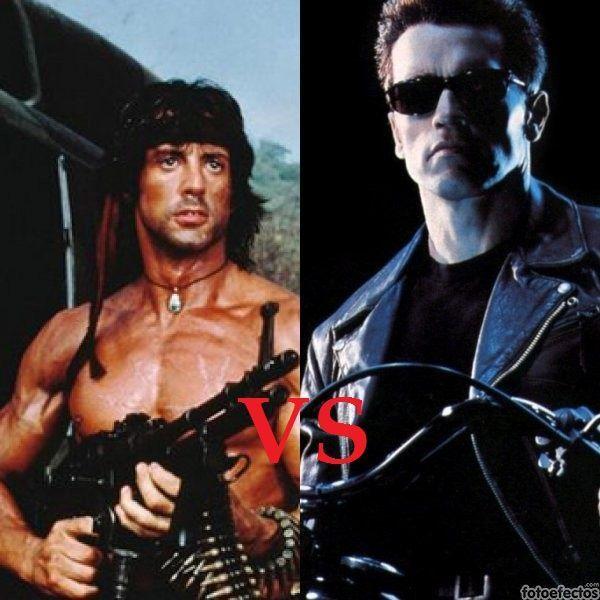 John Rambo VS Terminator T800