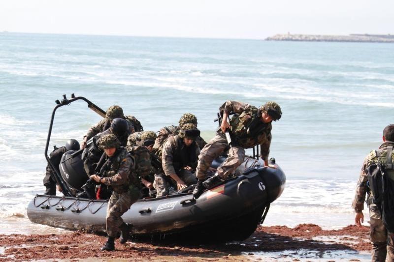¿Qué caracteriza a la infantería de marina?