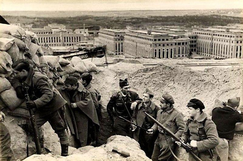 27866 - ¿Cuánto sabes del frente de Ciudad Universitaria en la Guerra Civil Española?