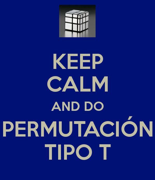 Nivel TheMaoiSha: ¿Cómo se hace una permutación tipo T?