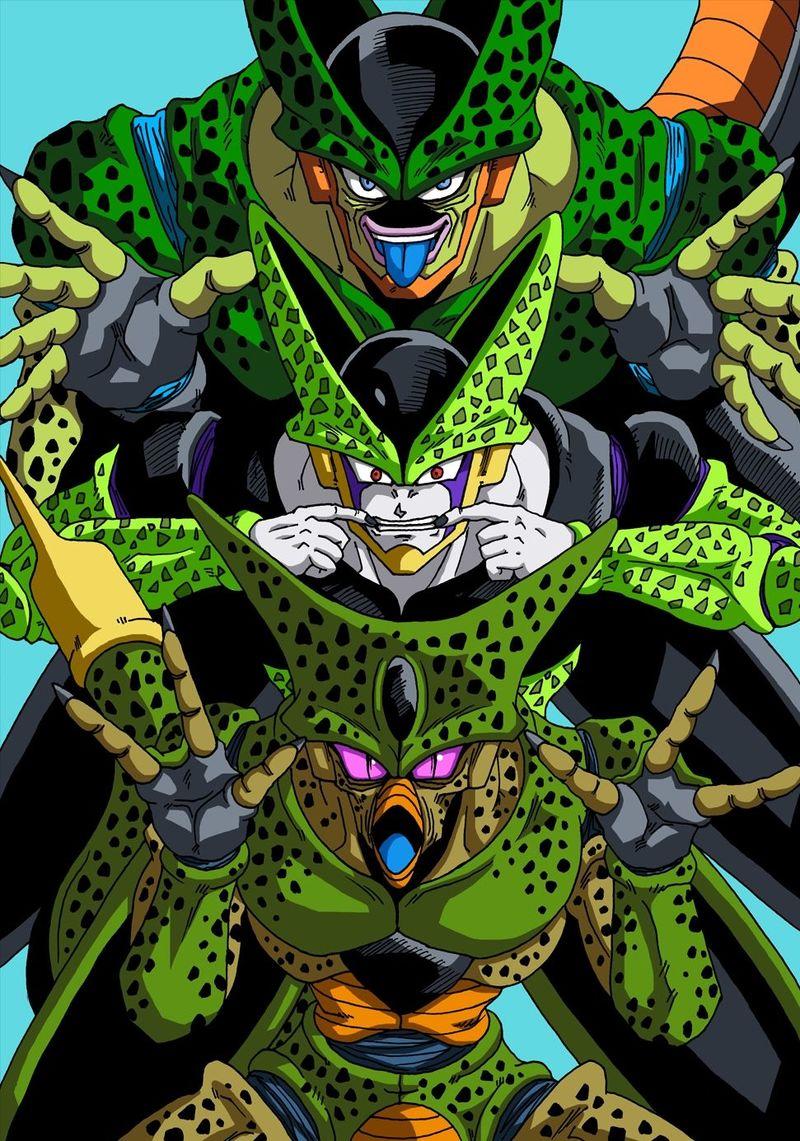 ¿Quién es el único que ve todas las formas de Cell?