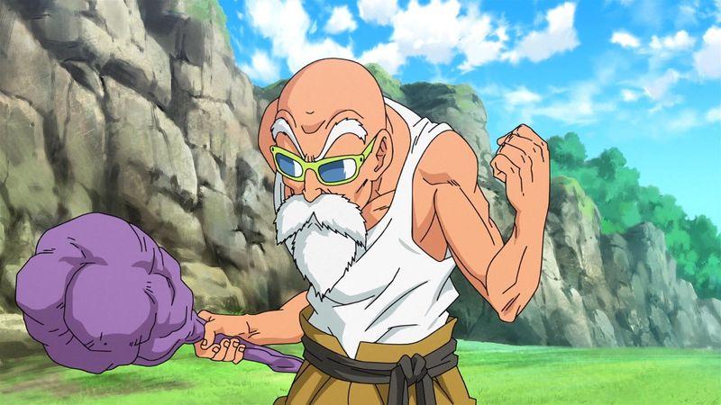 ¿Qué tiempo hace el maestro Mutenroshi en los 100 metros para enseñar lo que es sobrepasar el límite humano a Goku y Krilin?
