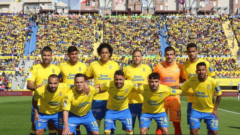 ¿Qué jugador de UD las Palmas lleva el dorsal 18? (2017)