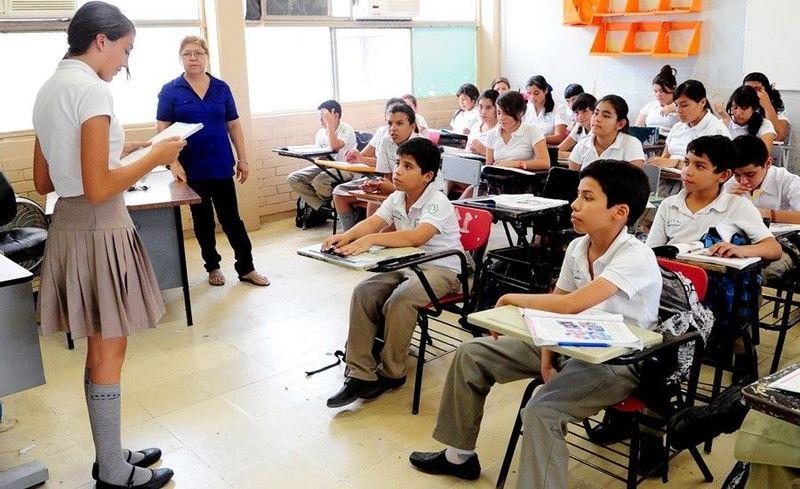 Primer día en tu nueva clase, el profesor te presenta ante tus nuevos compañeros y te dice que hables un poco de tí. Tu: