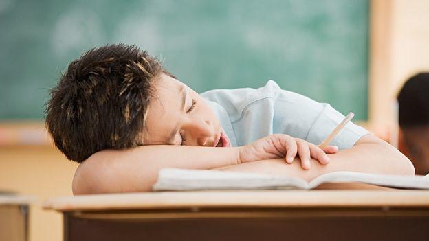Te despiertas en clase, todo había sido un sueño. ¿Qué haces?