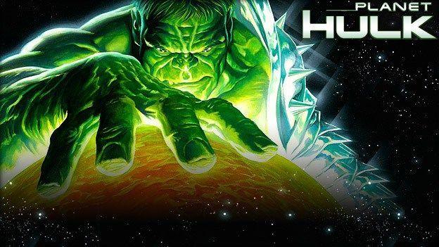 ¿A qué planeta llega y cómo en la saga Planet Hulk?