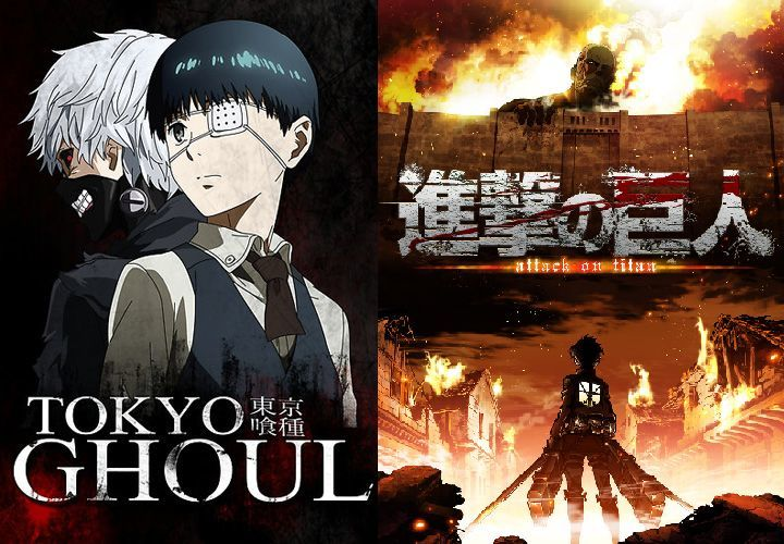 28104 - Tokyo Ghoul VS Attack on Titan