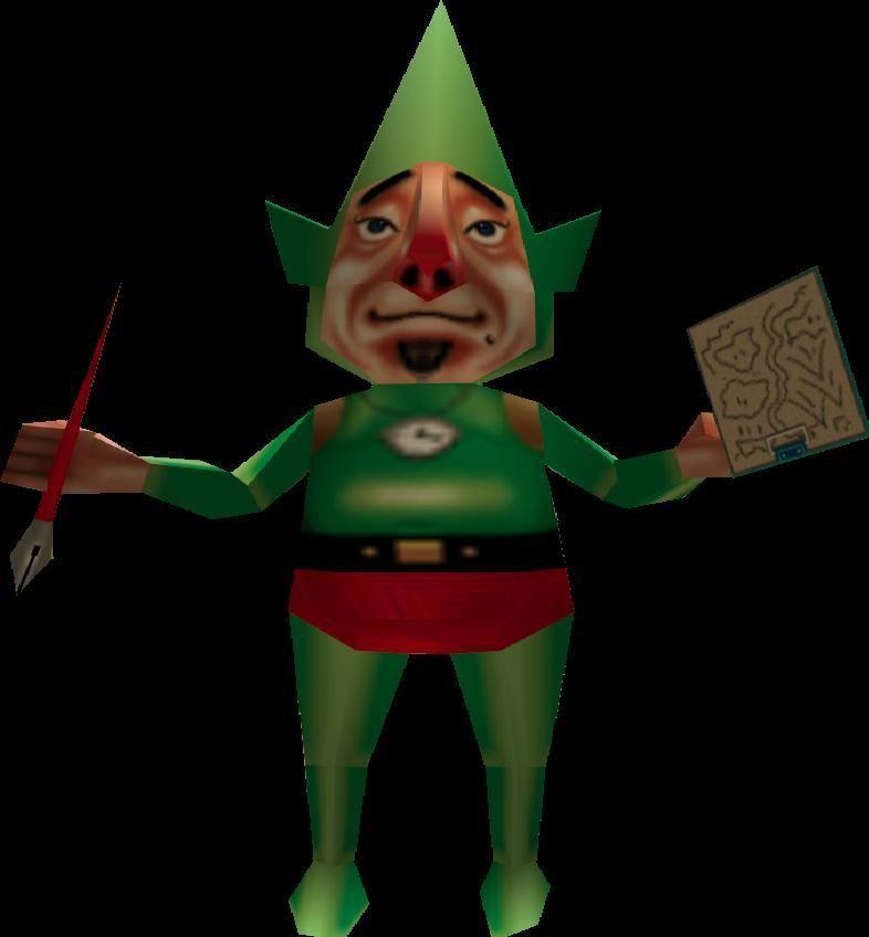 En Majora's Mask ¿quién es Tingle?
