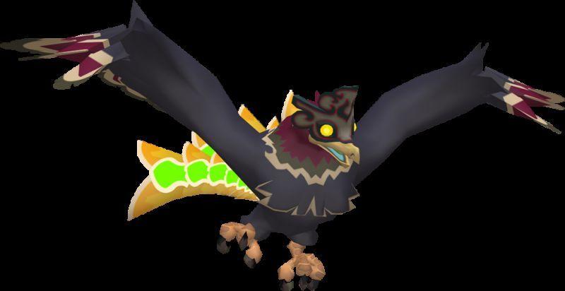 ¿Cómo se llama el pájaro que te ataca en la isla del diablo?