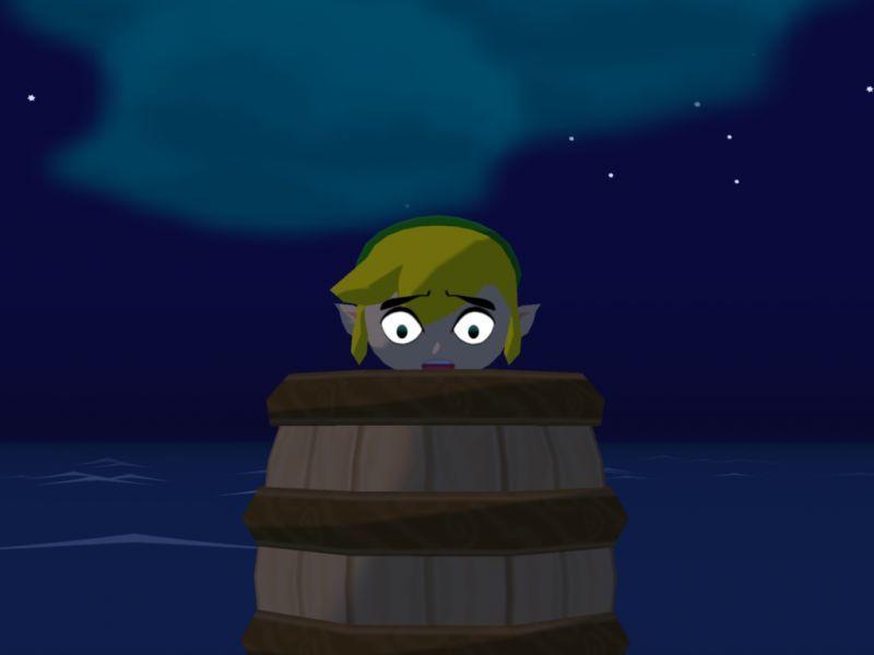 ¿Por qué catapultan a Link en la Isla del Diablo?