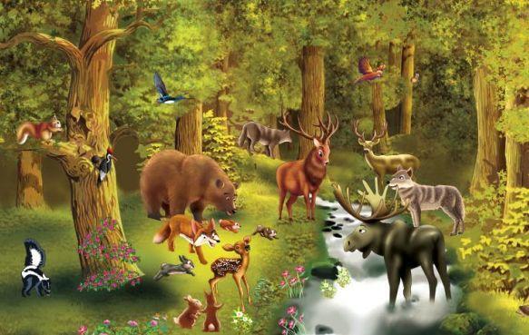 Los animalillos del bosque acuden a tu llanto y te conceden un deseo: