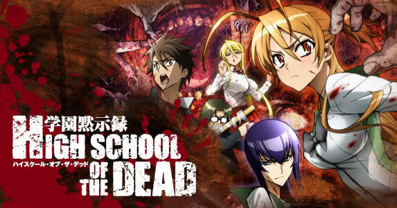 28262 - ¿Reconoces estos personajes de Highschool of the Dead?